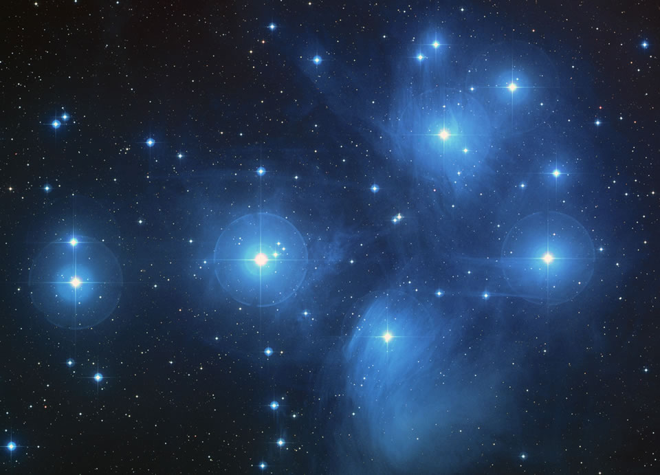 Hubble: The Pleiades